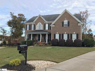 Simpsonville Single Family Home For Sale: 5 Cleyera