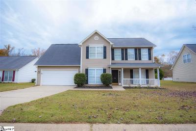 Easley Single Family Home Contingency Contract: 304 Cardinal Woods
