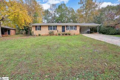 Greenville Single Family Home For Sale: 216 Richmond