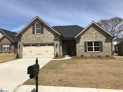 Greer Single Family Home For Sale: 18 Ana Rose