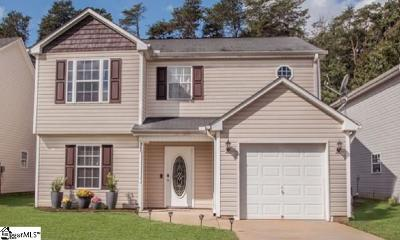 Greer Single Family Home For Sale: 135 Cosmos