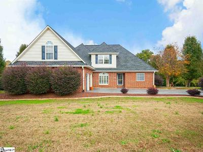 Inman Single Family Home For Sale: 816 Shadow Creek