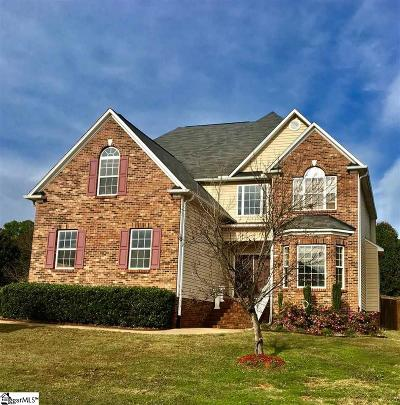 Greenville County Single Family Home For Sale: 5 Tennwood