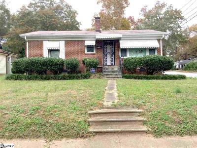 Spartanburg Single Family Home For Sale: 129 Gibson