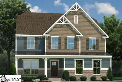 Greenville SC Single Family Home For Sale: $358,590