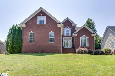 Simpsonville Single Family Home For Sale: 14 Habersham