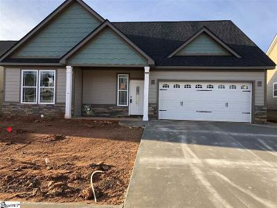 Spartanburg Single Family Home For Sale: 646 Cub Branch