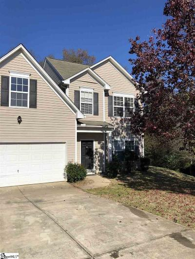 Simpsonville Single Family Home For Sale: 109 Welsford