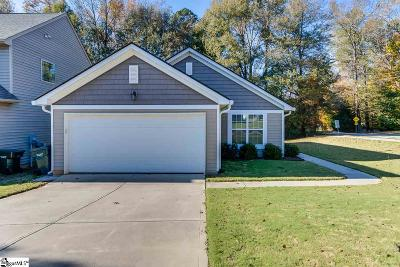 Greer Single Family Home For Sale: 2 Parkwalk