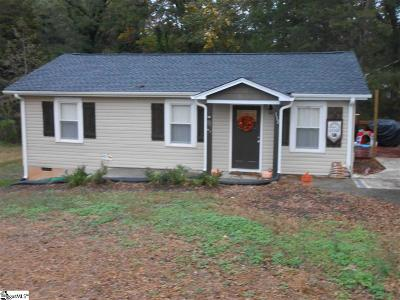 Simpsonville Single Family Home For Sale: 112 Boyd