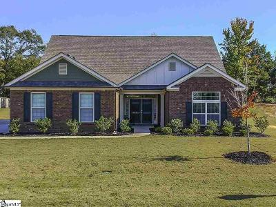 Simpsonville Single Family Home For Sale: 212 Cooper Oaks