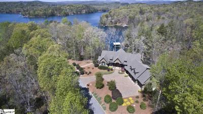 The Cliffs At Glassy, The Cliffs At Keowee, The Cliffs At Keowee Falls, The Cliffs At Keowee Falls North, The Cliffs At Keowee Falls South, The Cliffs At Keowee Springs, The Cliffs At Keowee Vineyards, The Cliffs At Mountain Park, Cliffs Valley Single Family Home For Sale: 110 Red Buckeye