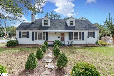 Easley Single Family Home For Sale: 206 E 3rd