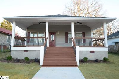 Greenville Single Family Home For Sale: 311 Tremont