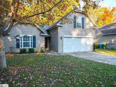 Greenville SC Single Family Home For Sale: $173,900