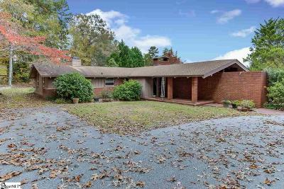 Greenville Single Family Home Contingency Contract: 111 Terramont
