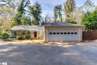 Greenville Single Family Home Contingency Contract: 322 Chick Springs
