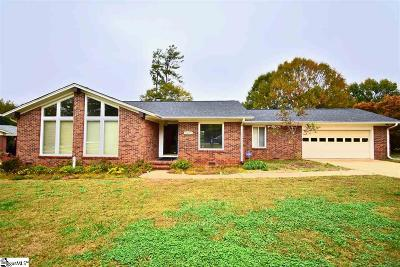 Anderson Single Family Home For Sale: 302 Pine Bark