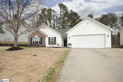 Easley Single Family Home For Sale: 521 Cardinal Woods