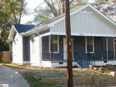 Anderson Single Family Home For Sale: 1606 South McDuffie