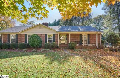 Greenville Single Family Home For Sale: 11 McSwain