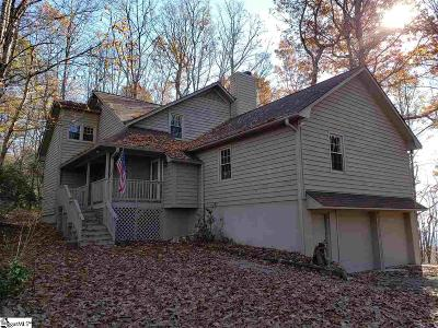 Greenville County Single Family Home For Auction: 112 Cliff Ridge