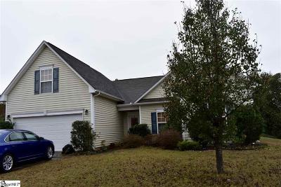 Simpsonville Single Family Home For Sale: 508 Kingfisher