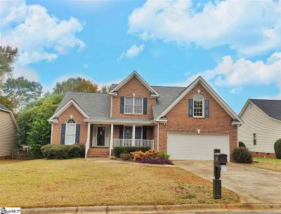 Greer Single Family Home For Sale: 16 Overcup