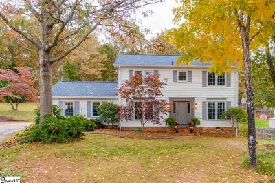 Taylors Single Family Home For Sale: 104 Ryan