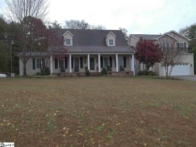 Pelzer Single Family Home For Sale: 477 Ballard