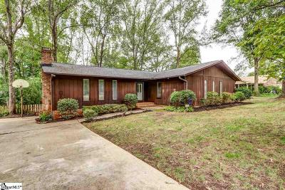 Greer Single Family Home For Sale: 111 Devenger