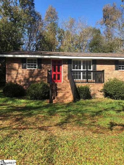 Laurens Single Family Home For Sale: 1782 Highway 127 Bypass