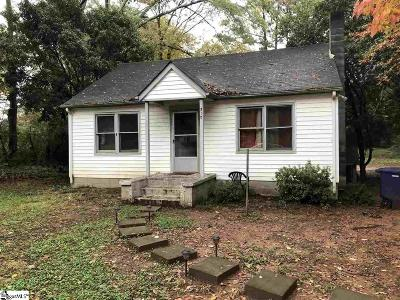 Spartanburg Single Family Home For Sale: 510 Wildwood