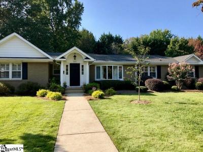 Greenville Rental For Rent: 111 Lake Forest