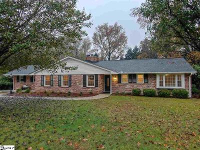 Easley Single Family Home For Sale: 104 S Dale