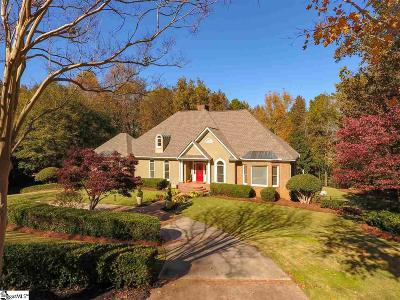 Greenville SC Single Family Home For Sale: $719,900