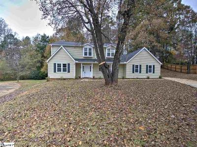 Mauldin Single Family Home Contingency Contract: 109 Hollibrook