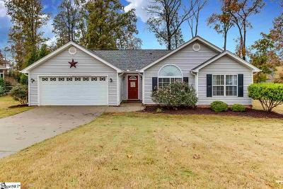 Greer Single Family Home For Sale: 14 Flowerwood