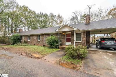 Spartanburg Multi Family Home Contingency Contract: 227 Cedar Crest