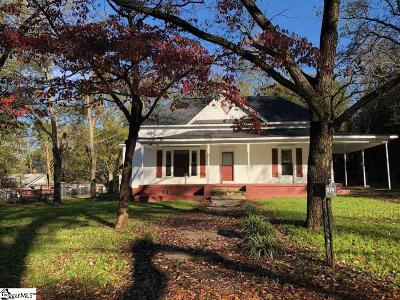 Easley Single Family Home For Sale: 512 W 4 Th