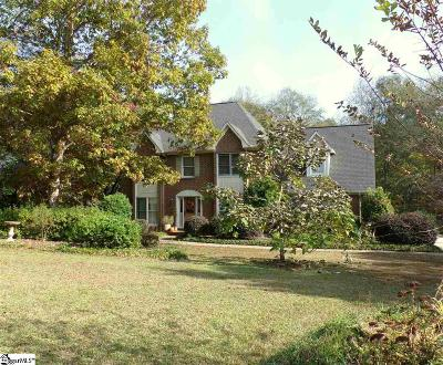 Spartanburg Single Family Home For Sale: 411 Thornhill