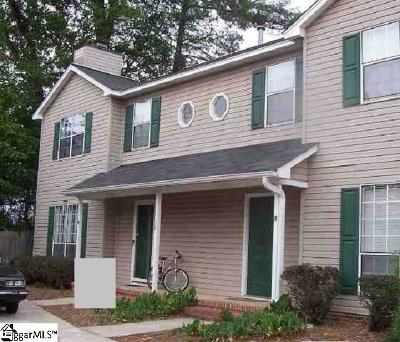 Greenville County Condo/Townhouse For Sale: 38a Huntsfield