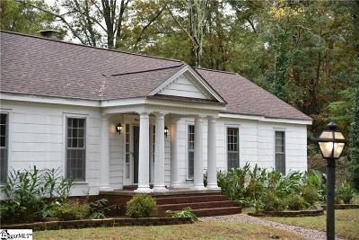 Anderson Single Family Home For Sale: 130 Hammett Acres