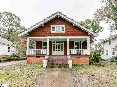 Spartanburg Single Family Home Contingency Contract: 775 N Liberty