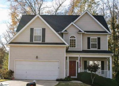 Simpsonville Single Family Home For Sale: 203 Coltsfoot
