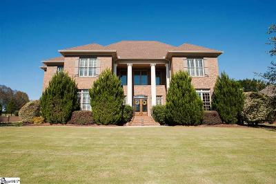 Greer Single Family Home For Sale: 909 Wax Myrtle