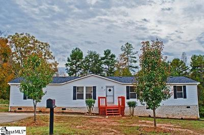 Greenville County Mobile Home For Sale: 4 Backwater