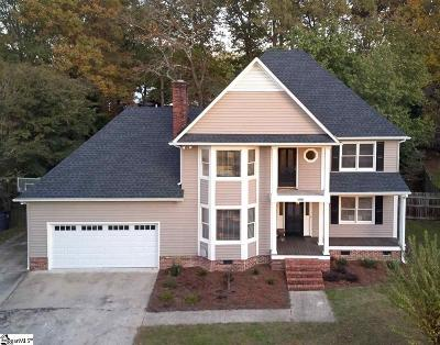 Greer Single Family Home For Sale: 105 Spartan