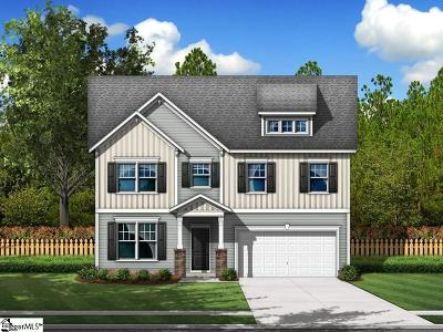 Greer Single Family Home For Sale: 278 Braselton #Lot 3