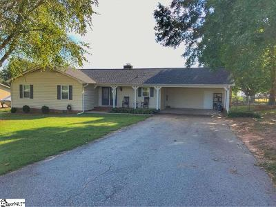 Moore SC Single Family Home For Sale: $149,900
